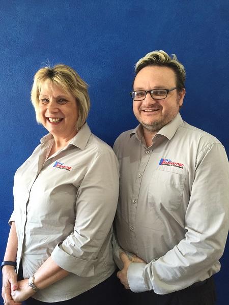 Stephen Hall & Chrissie Hanneford, Partners