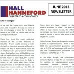 Image of Hall Hanneford Newsletter