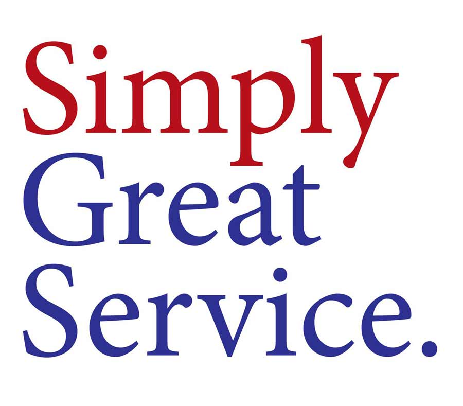 Logo Simply Great  Service