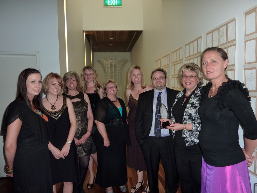 Scenic Rim Business Excellence Awards - Winning Team